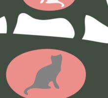 FERAL CAT COLONY  Sticker