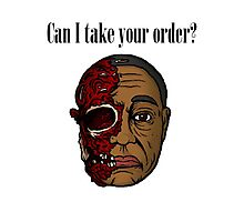 Can I Take Your Order? Photographic Print