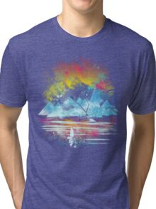 iceland islands Tri-blend T-Shirt