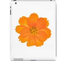 Orange Cosmos, Cosmos sulphureus. iPad Case/Skin