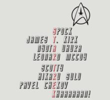 Star Trek Crew by atlwildguy