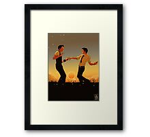 Glow Like An Incandescent Wire Framed Print