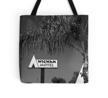 Route 66 - Wigwam Motel Tote Bag