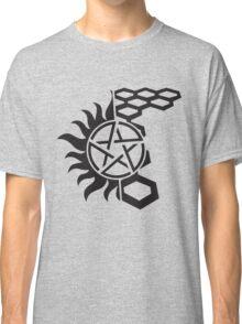 SuperWood Tee - Black Logo Classic T-Shirt