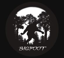 Bigfoot Silhouette  by thebigfootstore