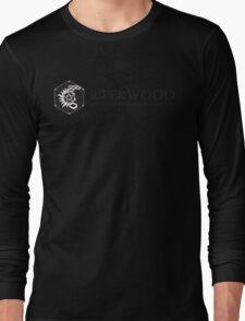 SuperWood 21st Century Tee - Black Logo Long Sleeve T-Shirt