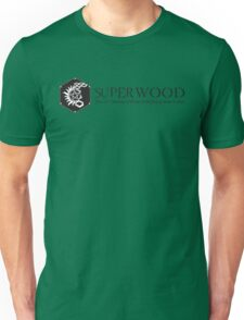 SuperWood 21st Century Tee - Black Logo Unisex T-Shirt