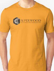 SuperWood 21st Century Tee - Black Logo Unisex T-Shirt