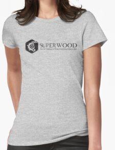 SuperWood 21st Century Tee - Black Logo T-Shirt