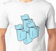 DENTAL FLOSS CONTAINERS  Unisex T-Shirt