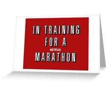 In Training Greeting Card