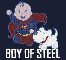 Boy Of Steel by Lou Mann