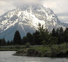 Grand Tetons Peak by Bryana Fern