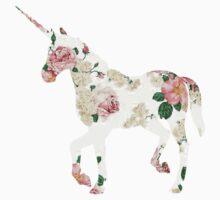 Floral Unicorn 2 Kids Clothes