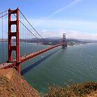 Golden Gate bridge San Francisco California by creativedesignz