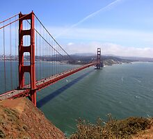 Golden Gate bridge San Francisco California by creativedesignz