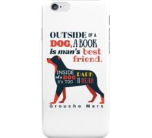 Groucho Marx Quote iPhone Case/Skin