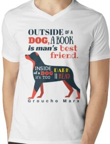 Groucho Marx Quote Mens V-Neck T-Shirt