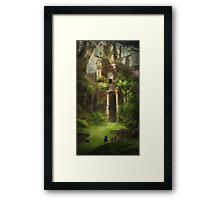 Legend of Zelda Forest Temple Framed Print
