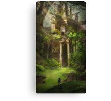 Legend of Zelda Forest Temple Canvas Print