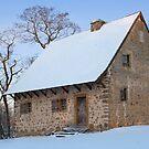 Hans Herr House in the Snow by Mark Van Scyoc