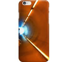 Driving into the road tunnel iPhone Case/Skin
