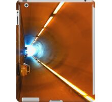 Driving into the road tunnel iPad Case/Skin