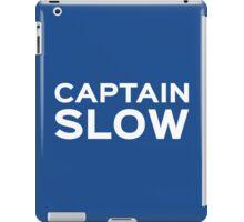 Captain Slow iPad Case/Skin