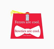 The Doctor and his Fez Unisex T-Shirt