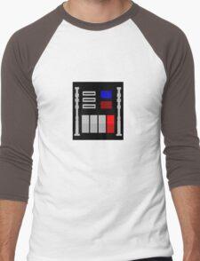 Darth Vader's Chest Panel Men's Baseball ¾ T-Shirt
