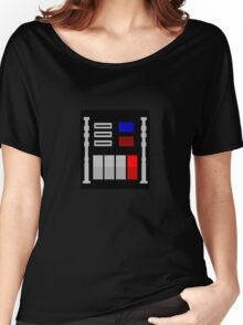 Darth Vader's Chest Panel Women's Relaxed Fit T-Shirt