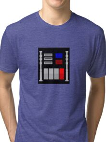 Darth Vader's Chest Panel Tri-blend T-Shirt
