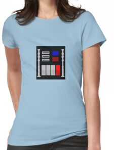 Darth Vader's Chest Panel Womens Fitted T-Shirt
