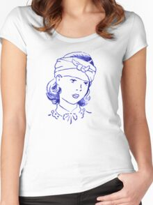 Bandage Girl Women's Fitted Scoop T-Shirt