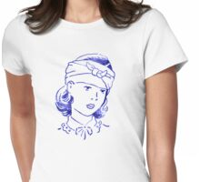 Bandage Girl Womens Fitted T-Shirt