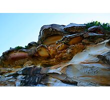 Bare Island Rock Formations #2 Photographic Print