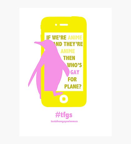 Nagisa || Gay for Plane Photographic Print