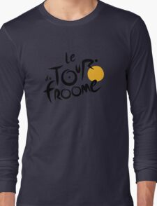 Le Tour du Froome (Black) Long Sleeve T-Shirt
