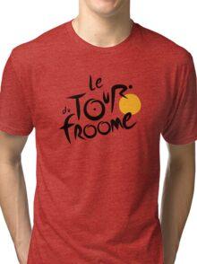Le Tour du Froome (Black) Tri-blend T-Shirt