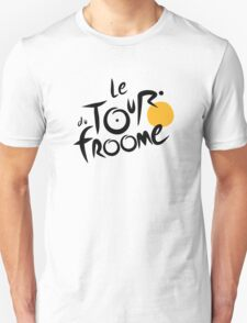 Le Tour du Froome (Black) T-Shirt