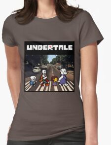 Undertale - Abbey Road  Womens Fitted T-Shirt