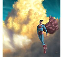 Retro Superman  Photographic Print