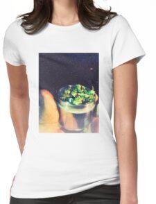Get yo' Veggies!  Womens Fitted T-Shirt