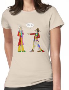 One in Six and Two in Four Womens Fitted T-Shirt