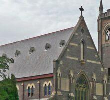Parish Church of  Mary Queen of Peace , Scone, Australia Sticker