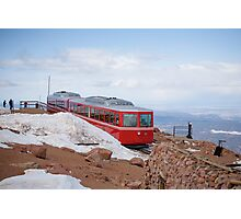 Pike Peak Cog Railroad Photographic Print