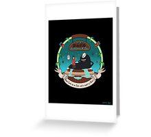 Sen's Bathhouse & Spa Greeting Card