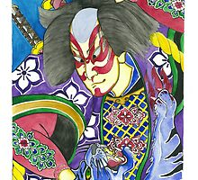 Samurai and Tiger by declantransam