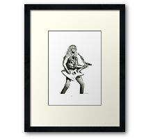 The Hetfield Framed Print