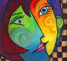 Picasso Portrait by ghostfiish